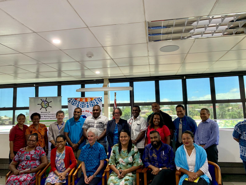 UN Humanitarian Chief Sir Mark Lowcock visits Fiji NDMO